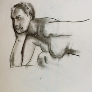chracoal sketch life drawing