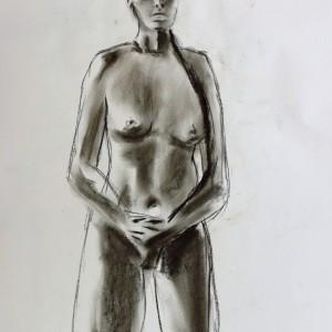 chracoal sketch life drawing