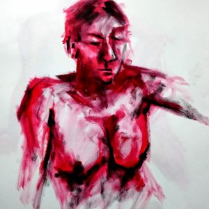 Oil Pastel Life drawing